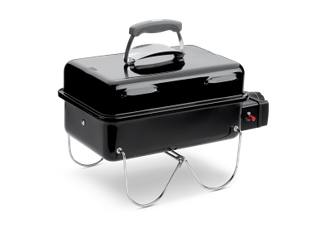 Weber bbq a gas go anywhere black compra jumbo