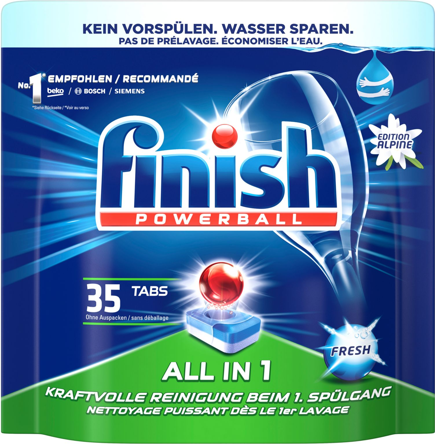FINISH Spülmaschinentabs All in 1