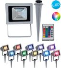 Projecteur phare LED multicolore