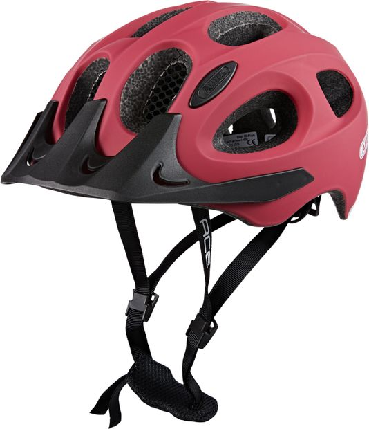 Image of ABUS FAHRRADHELM CHERRY RED L