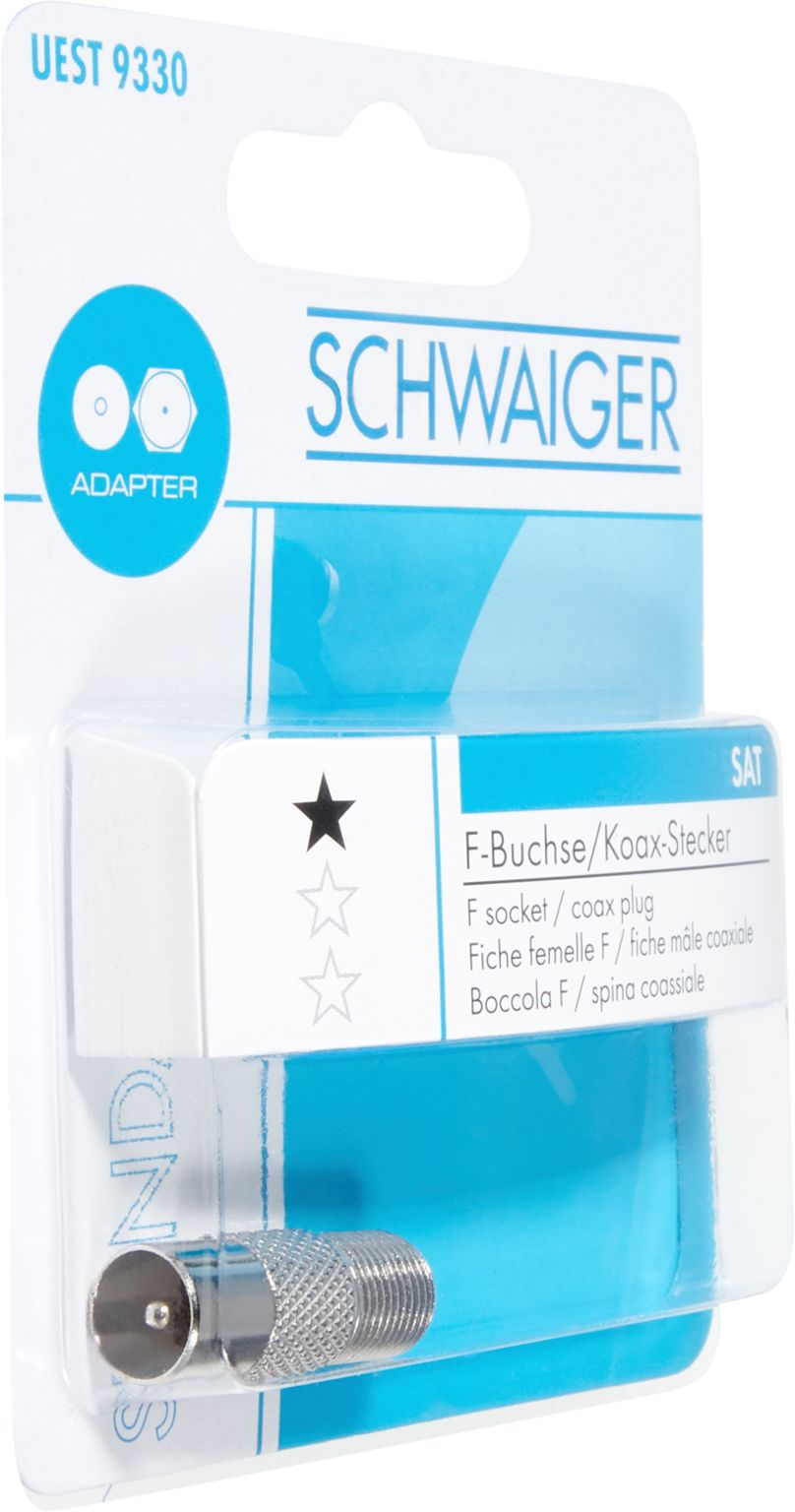 SCHWAIGER SAT-Adapter ANTENNENSTECKER