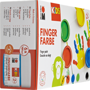 Kids Fingerfarbe Sets