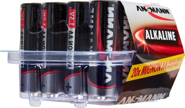 Image of ANSMANN Batterie Box MIGNON AA