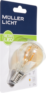LED fil. E14 150LM oro