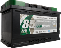 Autobatterie ECO POWER EFB 85