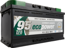 Autobatterie ECO POWER EFB 95