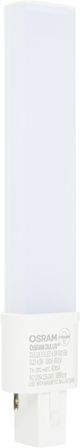 OSRAM LED-Energiesparlampe DULUX G23 450LM