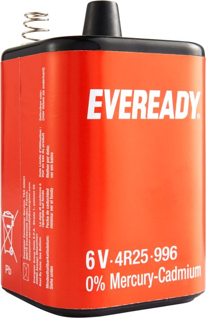 Image of ENERGIZER Batterie 4 R 25 Everready, 6V