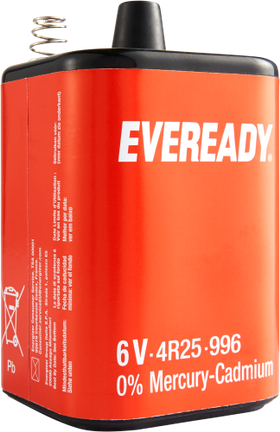 Batterie 4 R 25 Everready, 6V