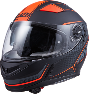 CASCO INTEGRALE BAYAMO RED RACE, S