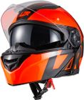 CASQUE RABATTABLE MH2 V'SIBLE RED L