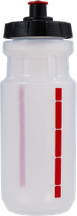 "Trinkflasche ""SCALE"" transp./rot 550ml"