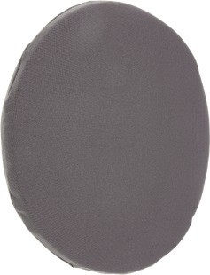 COUSSIN D'ASSISE BERN ROND ANTHRACITE