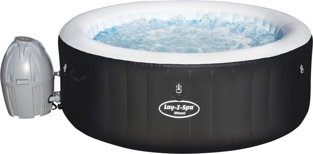 Image of BEST WAY Whirlpool Lay-Z-Spa MIAMI