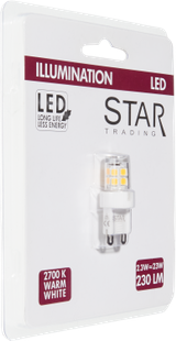 LED G9 Illumination 230LM