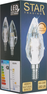 ILLUMINATION LED DIAMANT E14