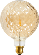 LED-Lampe AMBER GLASS E27
