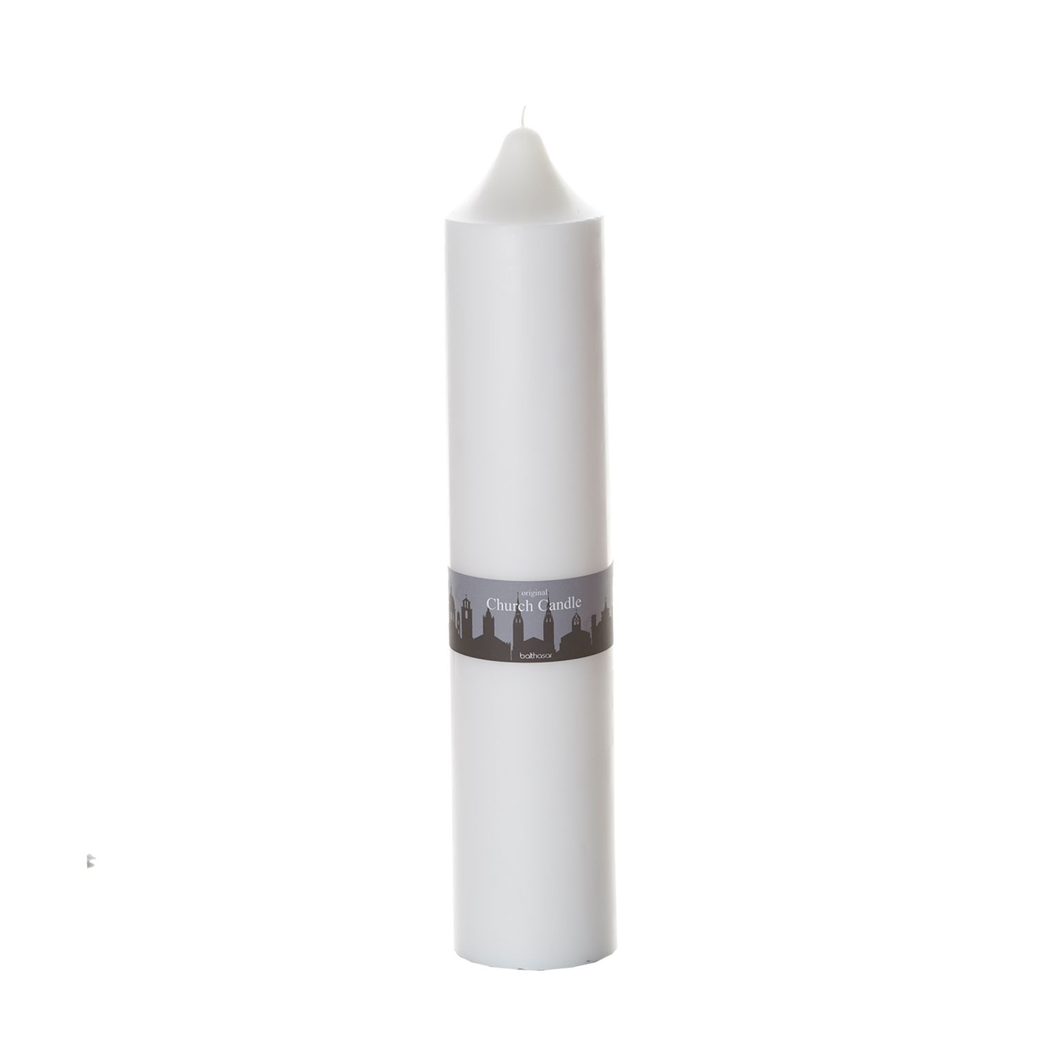 Church Candle weiss 10 x 50cm