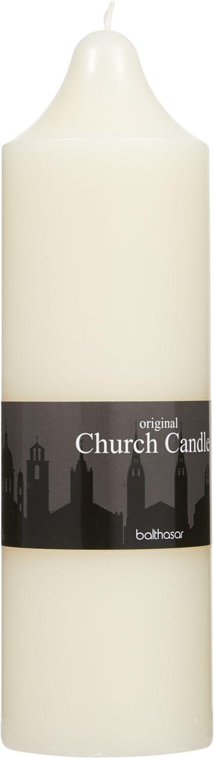 Church Candle créme 7.5 x 25 cm