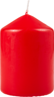 BOUGIE CYLINDRIQUE ROUGE