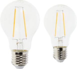 Ampoule LED à filament Duo E27 470 lm