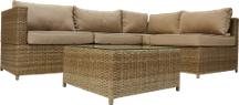 Wicker-Set MONTERIA