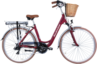 "City E-BIKE AMSTERDAM 28"" Bordeaux"