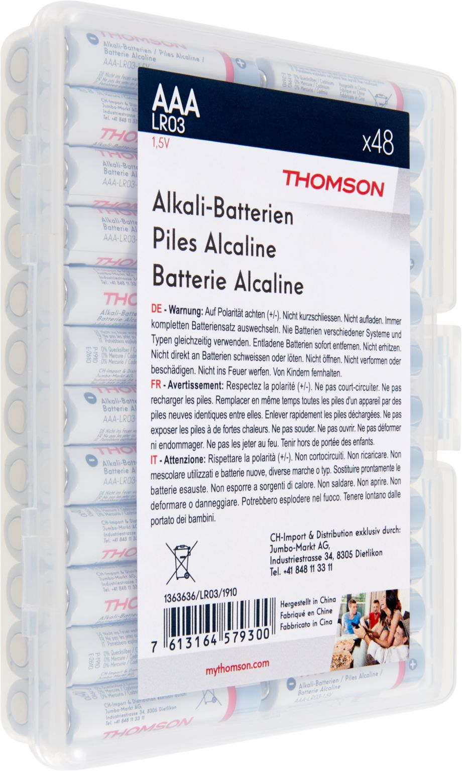 Image of THOMSON Batterie LR/AAA