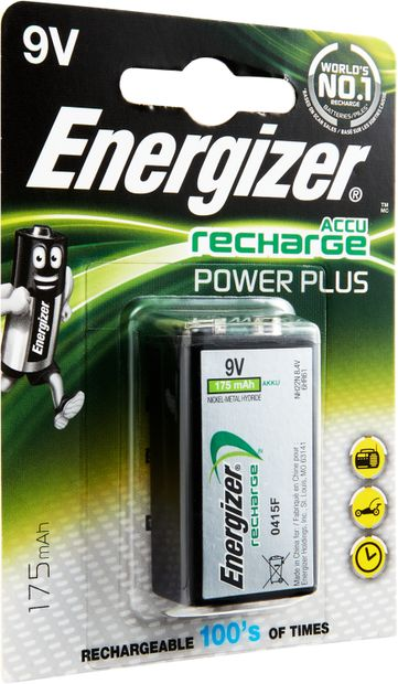 Image of ENERGIZER AKKU Power Plus, E-Block, HR22, 9V