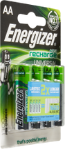 Batteries rechargeables AA