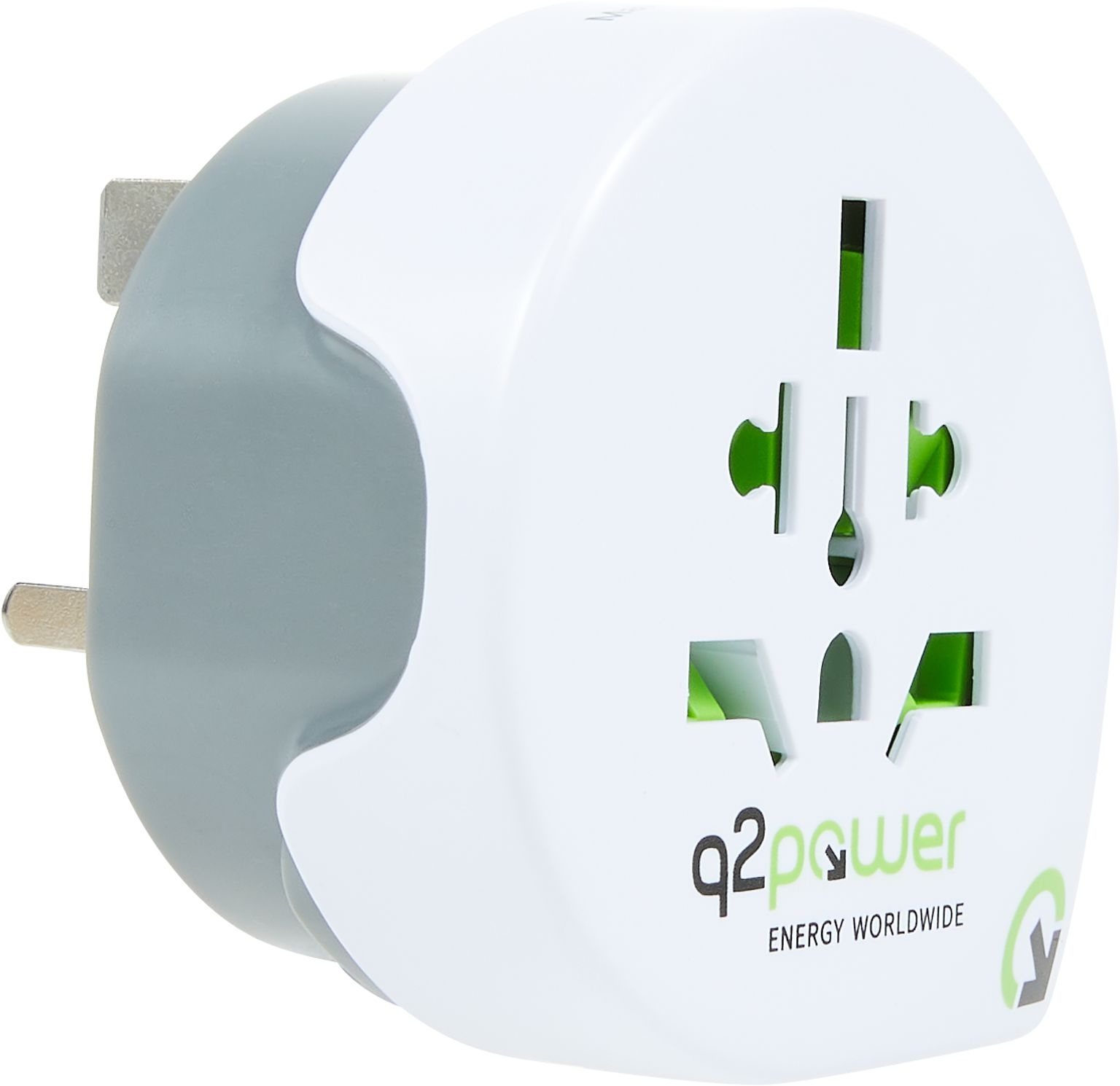 q2power Reiseadapter WELT - UK