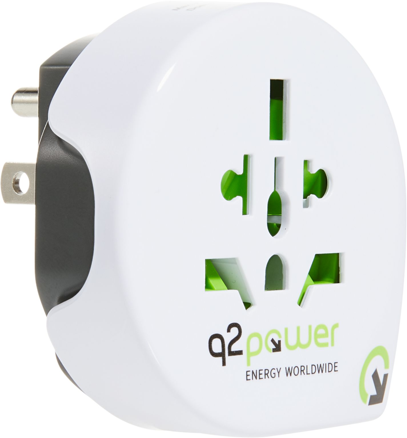 q2power Reiseadapter WELT - USA