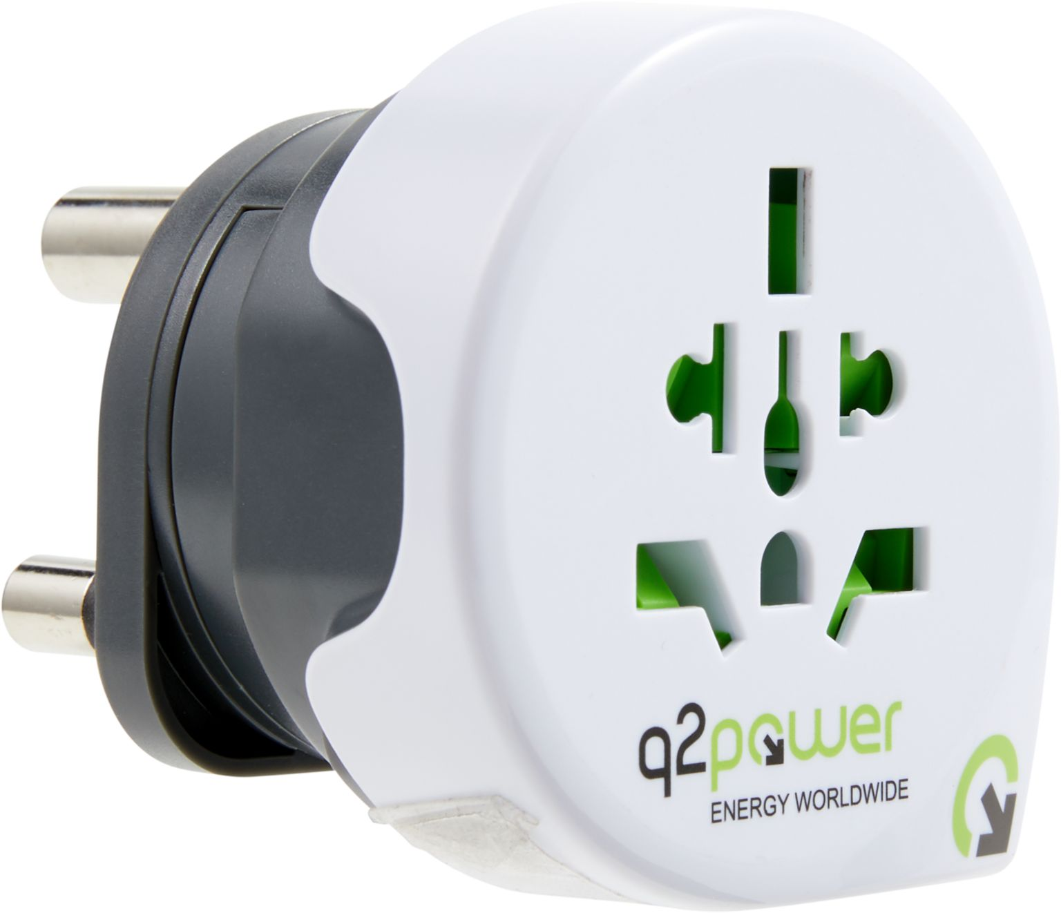 q2power Reiseadapter WORLD TO SOUTH AFRICA