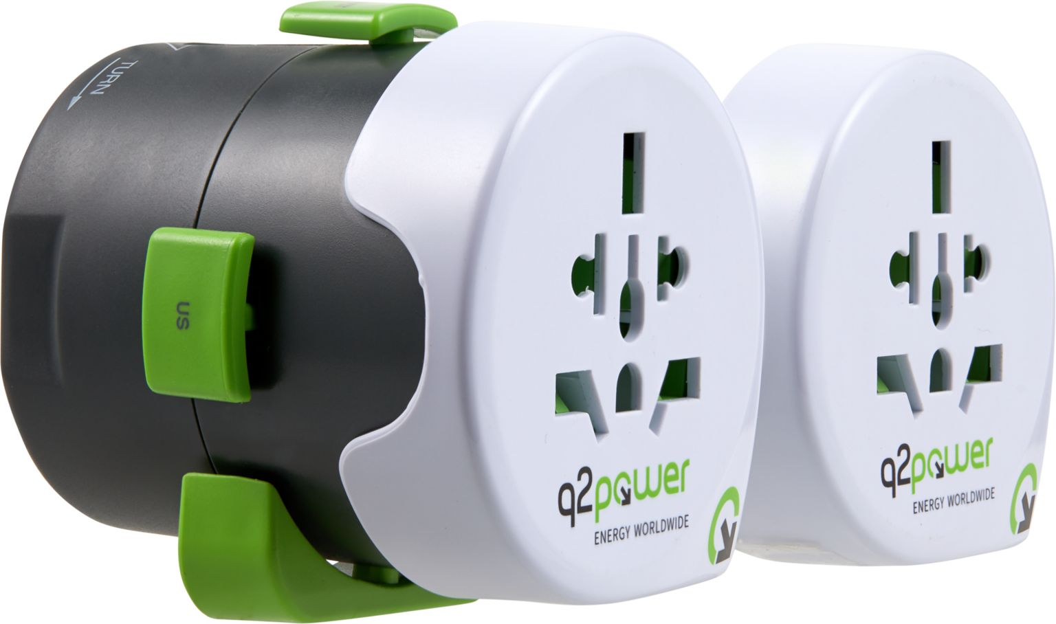 q2power Weltreiseadapter QDAPTER