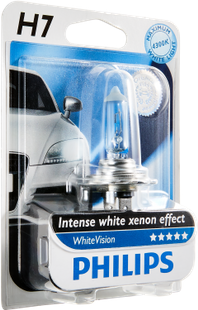 Autolampe WhiteVision H7